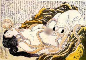 Erotic Woodcut