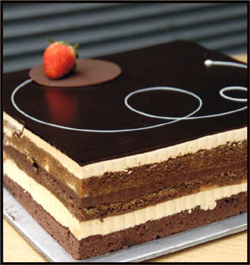 Opera Cake from Harvest